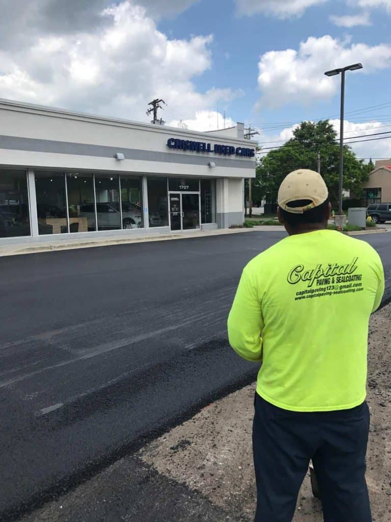 Commercial Paving Parking Lots