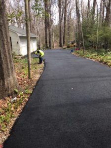 Paving for Residential Driveway